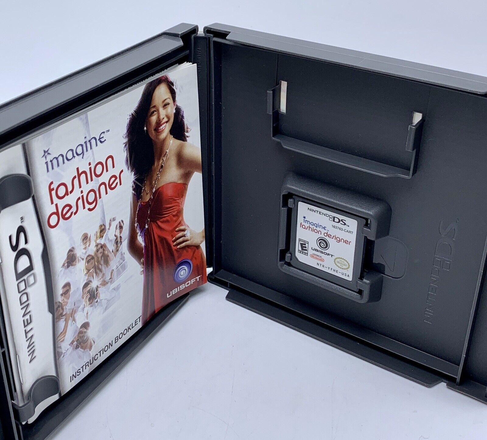 Imagine Fashion Designer I 3 Strategy For Nintendo Ds Dsi 3ds For Sale Online Ebay