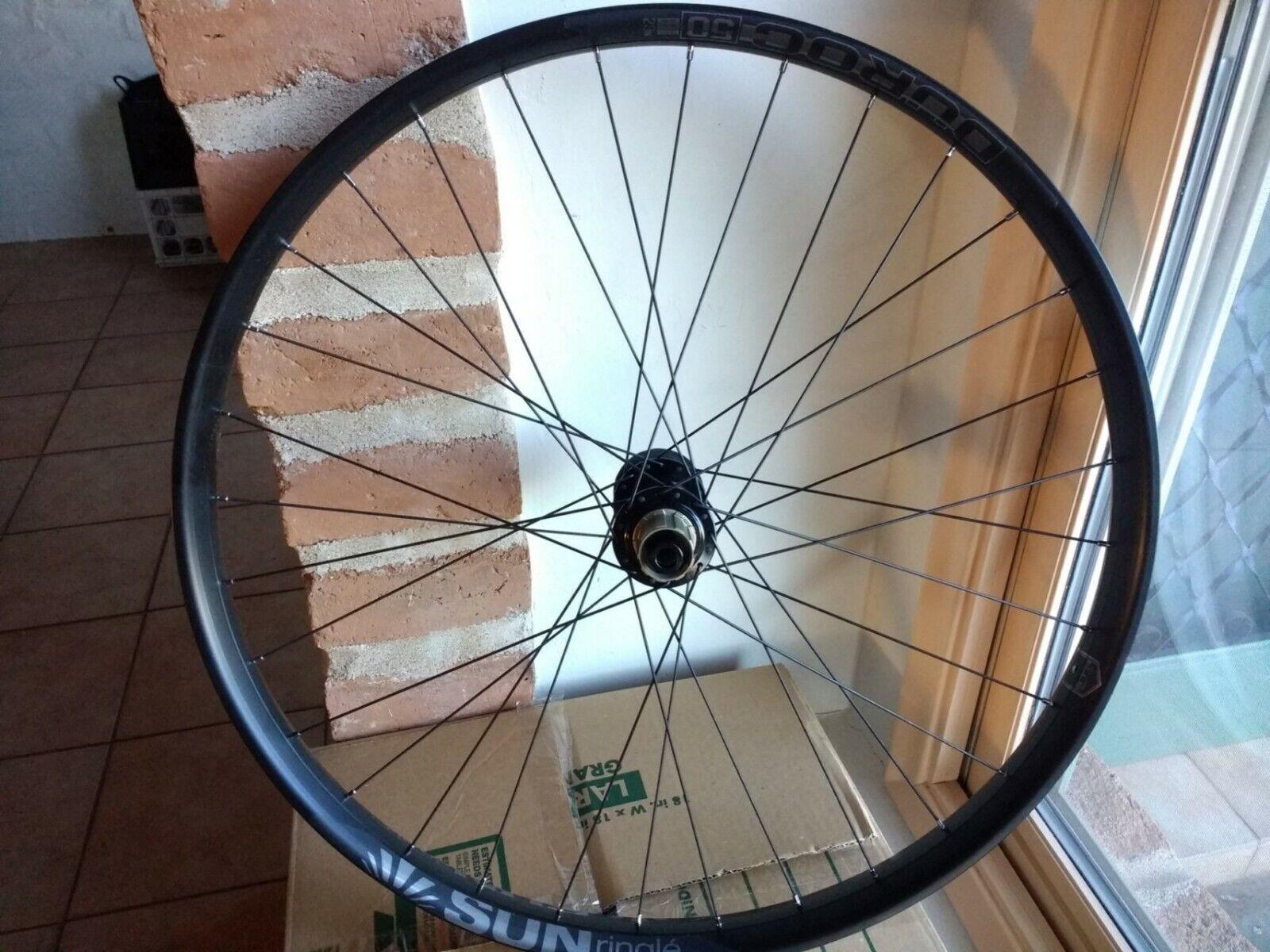 Sunringle Duroc 50 29+ 197mm Tubeless Ready Shimano Ready Rear Wheel