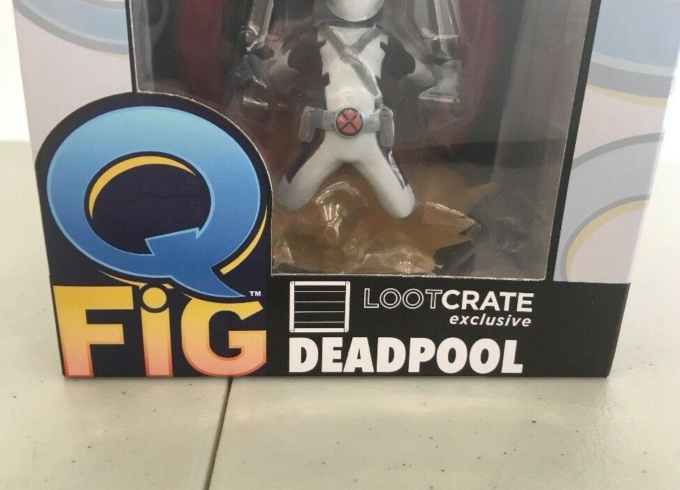 NIB Marvel LOOTCRATE Exclusive DEADPOOL Q Q Q FIG X-Force VARIANT Figure - RARE 82c846