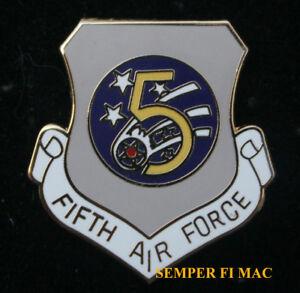 5TH US AIR FORCE ARMY AIR CORPS LARGE XL WING PIN PACAF Yokota Air Base Japan