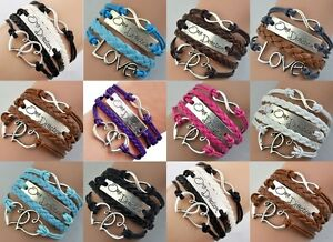 One-Direction-1D-Friendship-Infinity-Braided-Bracelet-10-Colors