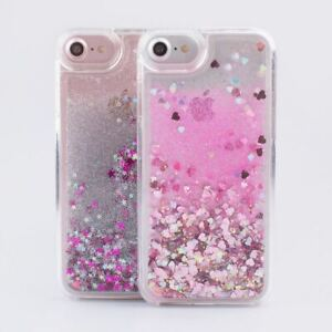 Case For iPhone X 6 6s 7 8 Glitter