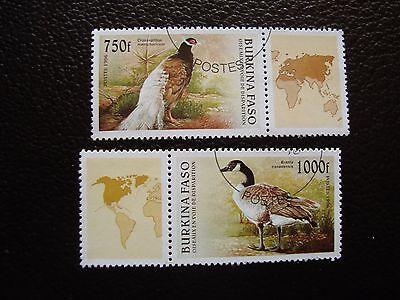 976 977 Gestempelt a04 Briefmarke Yvert Und Tellier Nr FleißIg Burkina Faso