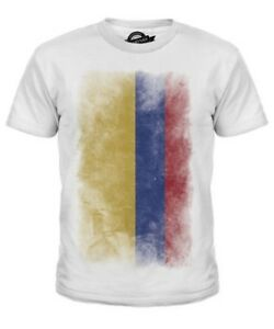Colombia Flag Shirts for Youth Colombia T Shirt Colombian Gifts
