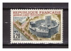 s24836-FRANCE-1963-MNH-Broadcasting-building-1v
