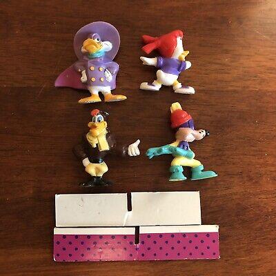 Mint In Box Disney Dark Wing Duck 1992 Complete Set of 4 Figures