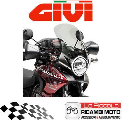 Pare Brise Bulle SPECIFIQUE D313S Honda XL 700V TRANSALP 2008 2013 FUM/È Moto GIVI