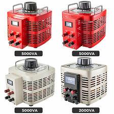Variac Transformer Variable 2 5kva Ac Voltage Regulator Metered 0 130230300v
