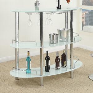 Bon Image Is Loading Modern Sleek White Black Multi Shelf Tempered Glass