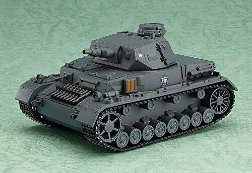 Girls & Panzer NendGoldid G Aha IV Tank D Type (Non Scale ABS & ATBC-PVC Painted