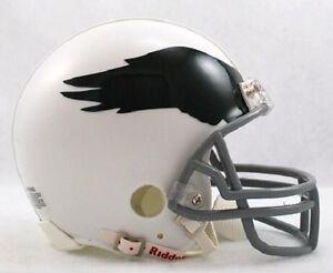 NFL Football Mini Helm Helmet PHILADELPHIA EAGLES Throwback 1969-73 OVP Riddell