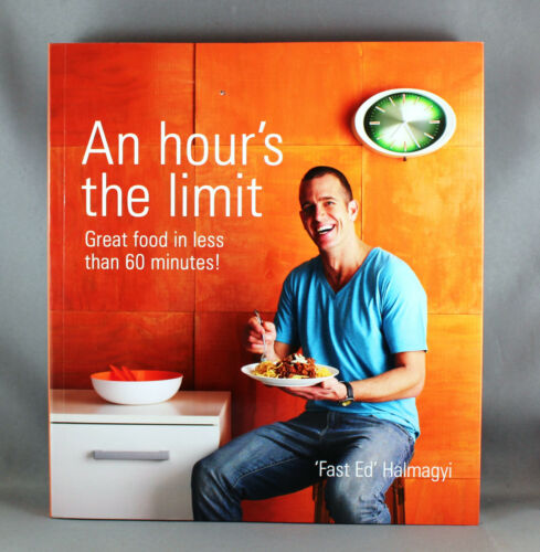 1 of 1 - An Hour's The Limit by Ed Halmagyi - Brand New Paperback