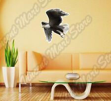 "Bald Eagle Hawk White Head Bird Wall Sticker Interior Decor 25""X20"""