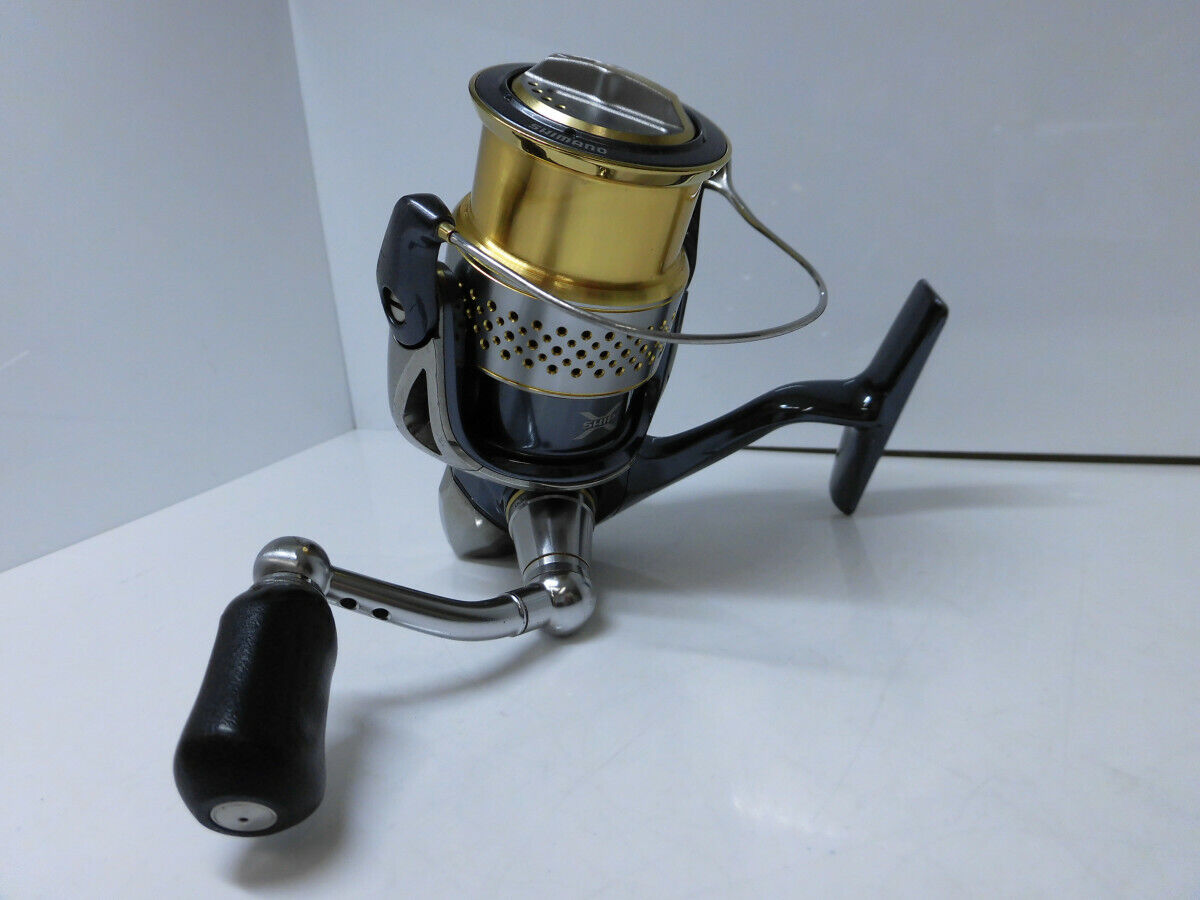 Excellent+++++ 10' SHIMANO STELLA  C3000S SPINNING REEL Reelstand From Japan