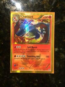 Pokemon Charizard 136/135 Shiny Holo Secret Rare 2012