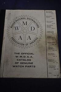 1957 Watch Material Distributors Assoc of America
