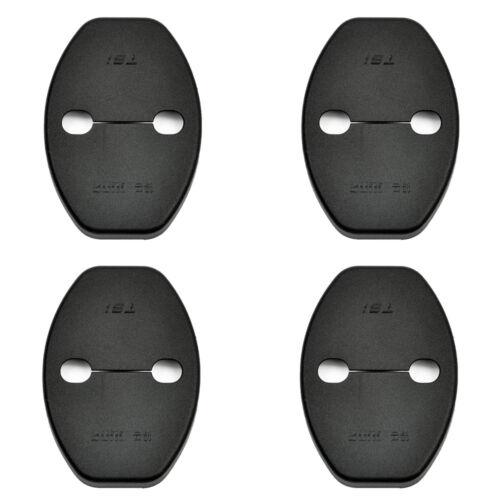 4X Car Door Lock Protective Cover Kit Plastic Fit Car Accessories Durable