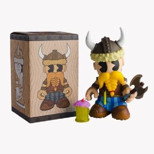 KIDROBOT FIGURE 7  MASCOT 20 BEAST BredHERS KidOlaf SEALED -vinyl toy designer