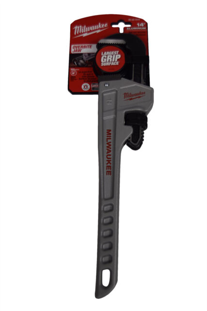 Aluminum Pipe Wrench Milwaukee 48-22-7214 14 in