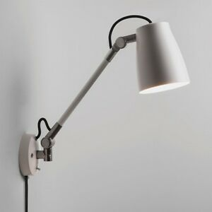 Details About Astro Atelier Grande Wall Mounted Reading Light With Switch 28w E27 White