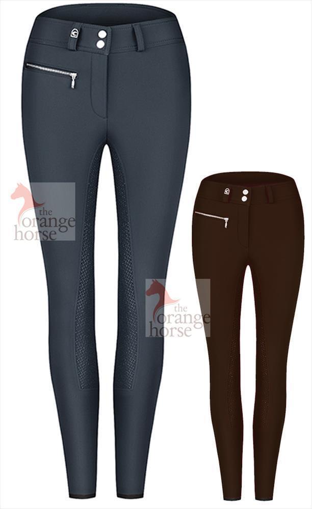 Cavallo Pantalones de Montar Mujer Candina GRIP - S - Chaqueta Softshell
