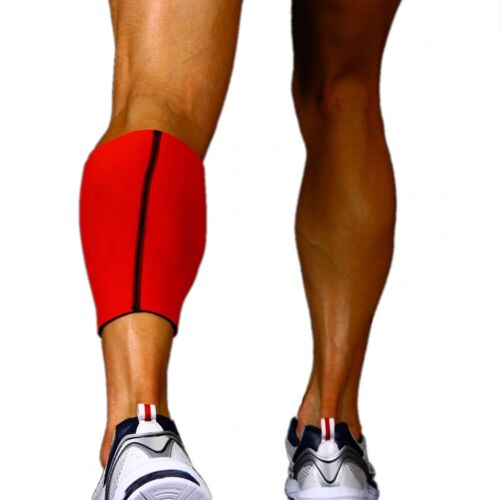 Body Helix Full Calf Support Red Small