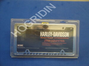 image is loading harley davidson script license plate frame truck car