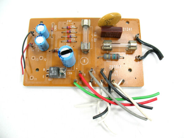 Actief Scott Turntable Model Ps-76 ~ Control Pcb Board ~ Repair Parts Project Materialen Van Hoge Kwaliteit