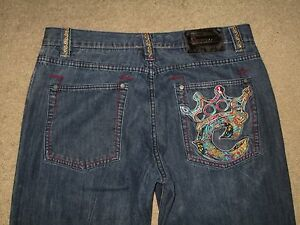 Coogi Size 40 X 34 Tapered Leg Dark Blue Denim Mens Jeans Crown ...