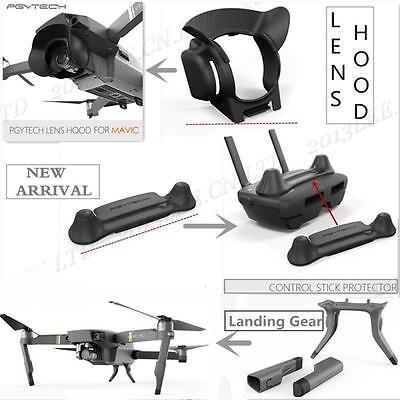 Mavic Pro Quadcopter Drone 3 in 1 Accessories Kits DJI Landing Gear Lens Parts N