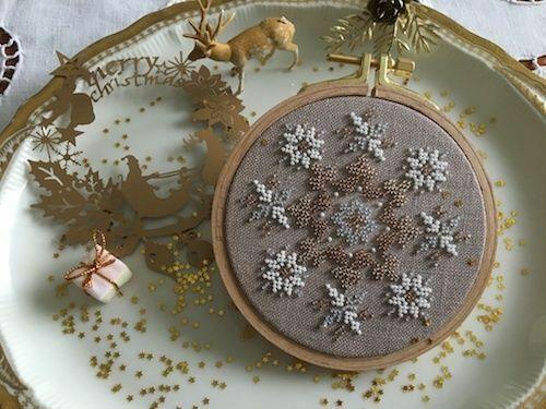 Joy 10/% Off Reflets de Soie Counted X-stitch//bead chart