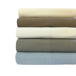 California King Size Thick Heavy and Ultra Soft 100 Cotton Flannel