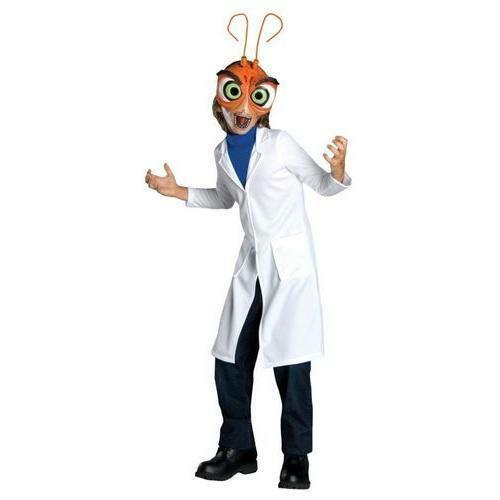 Dreamworks Monsters Vs Aliens Child S Deluxe Dr Cockroach Costume 4 6 For Sale Online Ebay