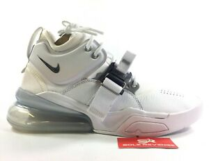 los angeles 0ed3e b4e68 Details about New NIKE AIR FORCE 270 AH6772-100 CHARLES BARKLEY  White/Metallic Silver c1