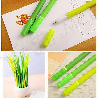 1 x Lovely Green Stationery Elegant Cute Soft Grass Princess Ballpoint Pen