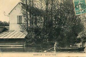 Carte-COURVILLE-Vue-sur-l-039-Eure