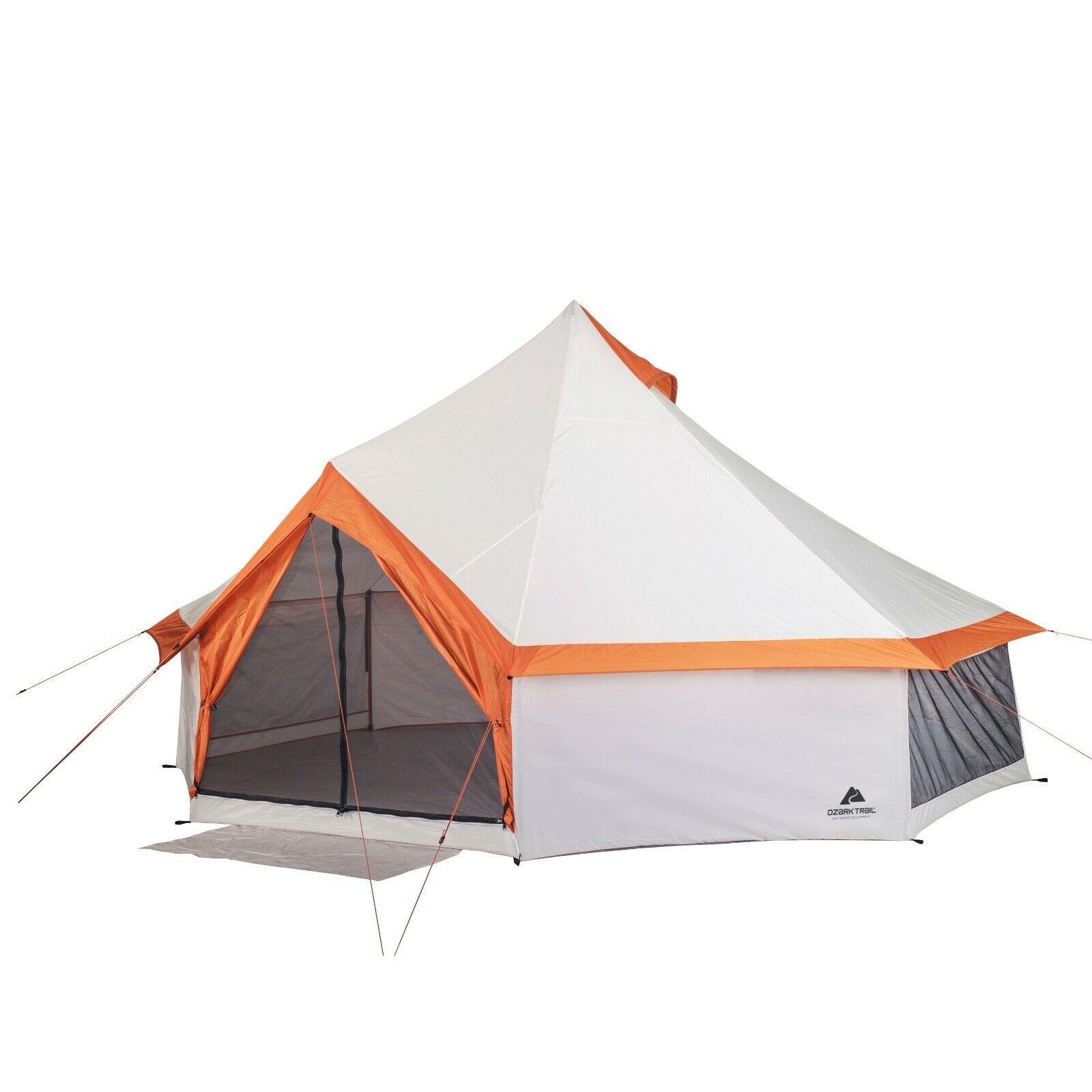 Größer Campingplatz Yurt Style 8 Person Wandern Outdoor Family Shelter Einfache Einrichtung