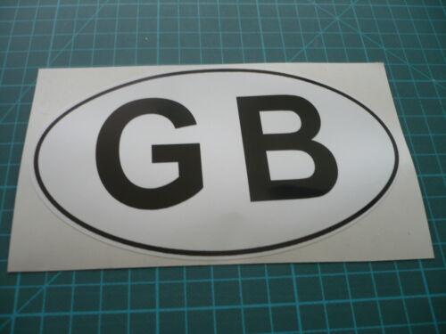 Classic Restoration Motorcycle Car GB Sticker 150mm