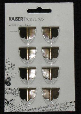 Kaisercraft KAISERtreasures Brass 1pk BTP (You choose Design) NEW KAISER