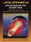 Live in Houston 1981: The Escape Tour [DVD/CD] by Journey (Rock) (CD, Nov-2005, 2 Discs)