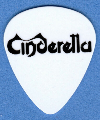 CINDERELLA LOGO ROCK GUITAR PICKS SET OF 4
