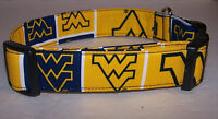 Wet Nose Designs West Virginia University Dog Collar Football Wvu Mountaineers