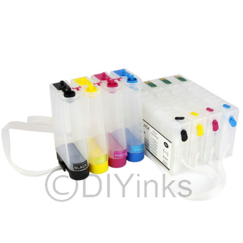 Empty CISS for Epson Workforce Pro WP-4020 WP-4530 WP-4540 for pigment ink use