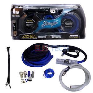 stinger sk6201 power amplifier wiring kit 1  0 gauge 4000