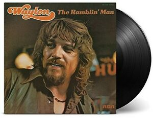 Waylon-Jennings-Ramblin-Man-New-Vinyl-180-Gram-Holland-Import