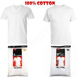 V S xl Hombres algodón 100 redondo 3 camiseta de Camiseta cuello blanca camiseta 12pack sin Camiseta wCxpE6H