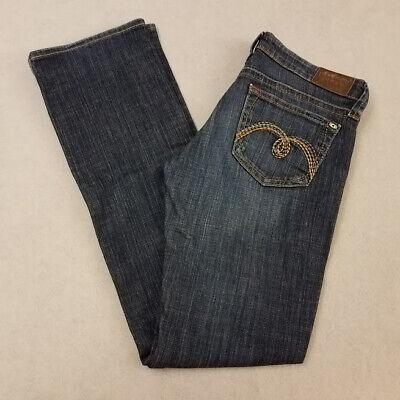 Mavi Jeans Womens Jeans Blue US Size 26 Super Skinny Ripped Stretch $118 956