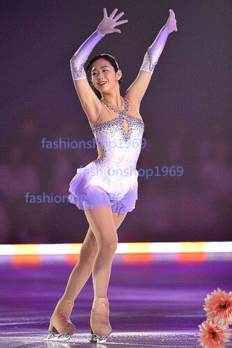Ice Figure Skating Dress RG Rhythmic Tap//Costume Twirling Competition Girl x381