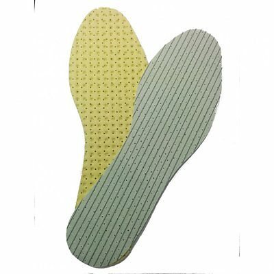 NEW UNISEX HEAT COMFORT 2 PC THERMAL SHOE BOOT INSOLES WARM TRAINERS INSULATING