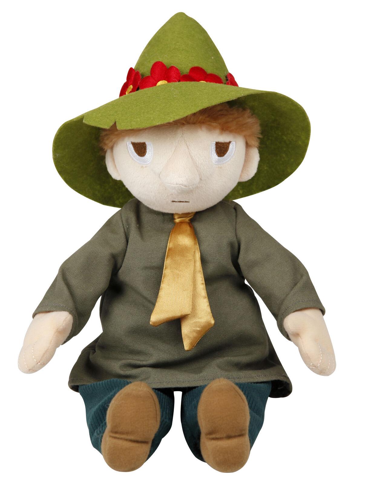 Moomin Tove 100 Anniversary Soft Toy Snufkin 38 cm Martinex